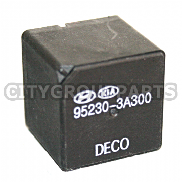 GENUINE HYUNDAI / KIA BLACK 5 PIN MULTI PURPOSE DECO RELAY 95230 3A300